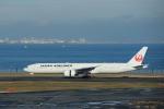 hikanagiさんが、羽田空港で撮影した日本航空 777-346/ERの航空フォト(写真)
