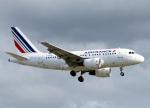 voyagerさんが、ロンドン・ヒースロー空港で撮影したエールフランス航空 A318-111の航空フォト(飛行機 写真・画像)