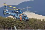 蒼い鳩さんが、松本空港で撮影した長野県警察 AS365N3 Dauphin 2の航空フォト(写真)