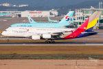 Toaruさんが、仁川国際空港で撮影したアシアナ航空 A380-841の航空フォト(写真)