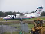 アイスコーヒーさんが、函館空港で撮影したサハリン航空 DHC-8-201Q Dash 8の航空フォト(飛行機 写真・画像)