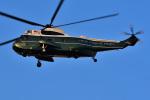 はるかのパパさんが、ハーディーバラックスヘリポートで撮影したアメリカ海兵隊 VH-3D Sea King (S-61B)の航空フォト(写真)