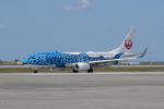 かずまっくすさんが、那覇空港で撮影した日本トランスオーシャン航空 737-8Q3の航空フォト(写真)