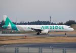 雲霧さんが、成田国際空港で撮影したエアソウル A321-231の航空フォト(写真)