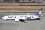 プルシアンブルーさんが、仙台空港で撮影したスカイマーク 737-86Nの航空フォト(写真)