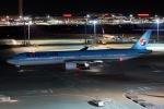 ほわいトさんが、羽田空港で撮影した大韓航空 777-3B5の航空フォト(写真)