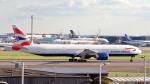 誘喜さんが、ロンドン・ヒースロー空港で撮影したブリティッシュ・エアウェイズ 777-336/ERの航空フォト(写真)