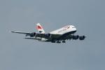 garrettさんが、シンガポール・チャンギ国際空港で撮影したブリティッシュ・エアウェイズ A380-841の航空フォト(写真)