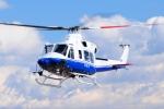 SAMBAR-2463さんが、群馬ヘリポートで撮影したティー・エム・シー・インターナショナル 412EPの航空フォト(写真)