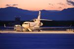 とろーるさんが、新千歳空港で撮影したダッソー・ファルコン Falcon 7Xの航空フォト(写真)