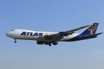 たっくさんが、成田国際空港で撮影したアトラス航空 747-87UF/SCDの航空フォト(写真)
