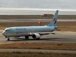 国府宮さんが、関西国際空港で撮影した大韓航空 737-9B5の航空フォト(写真)