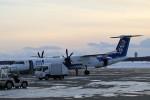 GRX135さんが、新千歳空港で撮影したANAウイングス DHC-8-402Q Dash 8の航空フォト(写真)