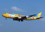 voyagerさんが、那覇空港で撮影した全日空 747-481(D)の航空フォト(飛行機 写真・画像)