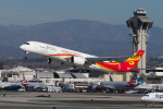 LAX Spotterさんが、ロサンゼルス国際空港で撮影した香港航空 A350-941XWBの航空フォト(写真)
