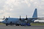 おかげ犬さんが、八戸航空基地で撮影した海上自衛隊 C-130Rの航空フォト(写真)