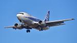 パンダさんが、成田国際空港で撮影したANAウイングス 737-5L9の航空フォト(飛行機 写真・画像)