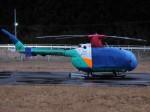 ミルハスさんが、某所で撮影した東北エアサービス Bo 105CBS-4の航空フォト(写真)