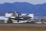 Assk5338さんが、松本空港で撮影したグラフィック 525A Citation CJ1の航空フォト(写真)
