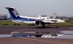 ハミングバードさんが、名古屋飛行場で撮影した全日空 PA-42-720 Cheyenne IIIAの航空フォト(飛行機 写真・画像)