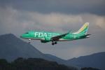 FRTさんが、福岡空港で撮影したフジドリームエアラインズ ERJ-170-100 SU (ERJ-170SU)の航空フォト(飛行機 写真・画像)