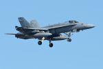 うめやしきさんが、厚木飛行場で撮影したアメリカ海軍 F/A-18C Hornetの航空フォト(飛行機 写真・画像)