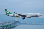FRTさんが、関西国際空港で撮影したエバー航空 A330-203の航空フォト(飛行機 写真・画像)