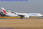 Chofu Spotter Ariaさんが、成田国際空港で撮影したスリランカ航空 A330-343Xの航空フォト(飛行機 写真・画像)