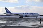 北の熊さんが、新千歳空港で撮影した全日空 767-381Fの航空フォト(写真)