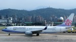westtowerさんが、台北松山空港で撮影したチャイナエアライン 737-8Q8の航空フォト(写真)