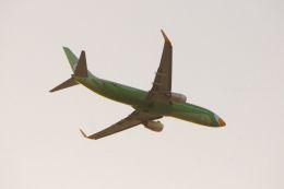 まいけるさんが、ドンムアン空港で撮影したノックエア 737-86Jの航空フォト(飛行機 写真・画像)