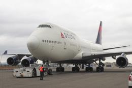 LAX Spotterさんが、ロサンゼルス国際空港で撮影したデルタ航空 747-451の航空フォト(写真)