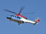 パンサーRP21さんが、朝日航洋川越メンテナンスセンターで撮影した新潟県消防防災航空隊 AW139の航空フォト(写真)