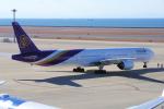 yabyanさんが、中部国際空港で撮影したタイ国際航空 777-3D7の航空フォト(写真)