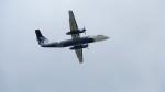 Koj-skadb2116さんが、鹿児島空港で撮影したオーロラ DHC-8-315Q Dash 8の航空フォト(写真)