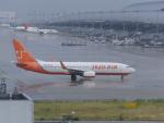 FRTさんが、関西国際空港で撮影したチェジュ航空 737-8BKの航空フォト(飛行機 写真・画像)