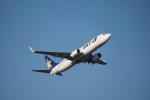 FRTさんが、福岡空港で撮影したスカイマーク 737-8Q8の航空フォト(飛行機 写真・画像)