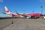 JRF spotterさんが、ダニエル・K・イノウエ国際空港で撮影した日本トランスオーシャン航空 737-8Q3の航空フォト(写真)