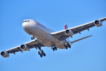 パンダさんが、成田国際空港で撮影したスイスインターナショナルエアラインズ A340-313Xの航空フォト(写真)