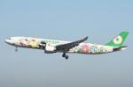 シュウさんが、成田国際空港で撮影したエバー航空 A330-302Xの航空フォト(写真)