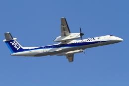 A-Chanさんが、福岡空港で撮影したANAウイングス DHC-8-402Q Dash 8の航空フォト(写真)