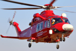 takaRJNSさんが、ホンダエアポートで撮影した埼玉県防災航空隊 AW139の航空フォト(写真)