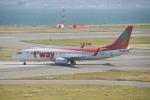 FRTさんが、関西国際空港で撮影したティーウェイ航空 737-86Nの航空フォト(飛行機 写真・画像)