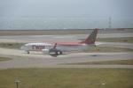 FRTさんが、関西国際空港で撮影したティーウェイ航空 737-8BKの航空フォト(飛行機 写真・画像)