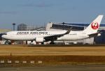 あしゅーさんが、成田国際空港で撮影した日本航空 767-346/ERの航空フォト(飛行機 写真・画像)