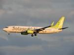 おっつんさんが、那覇空港で撮影したソラシド エア 737-86Nの航空フォト(写真)
