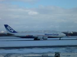 furaibo123さんが、新千歳空港で撮影した日本貨物航空 747-8KZF/SCDの航空フォト(飛行機 写真・画像)