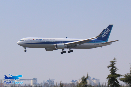 YuukiToonoさんが、青島流亭国際空港で撮影した全日空 767-381/ERの航空フォト(飛行機 写真・画像)