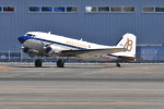 Orange linerさんが、鹿児島空港で撮影したスーパーコンステレーション飛行協会 DC-3Aの航空フォト(写真)