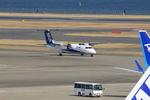 ふじいあきらさんが、羽田空港で撮影したエアーニッポンネットワーク DHC-8-314Q Dash 8の航空フォト(飛行機 写真・画像)